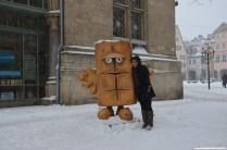 Bernd das Brot am Rathaus Erfurt
