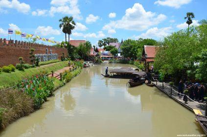 Ayutthaya Floating Market Aussicht