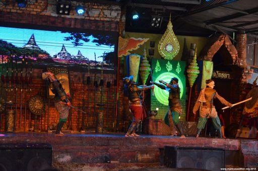 Ayutthaya Floating Market Show
