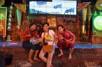 Ayutthaya Floating Market Show Apple