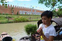 Ayutthaya Floating Market River