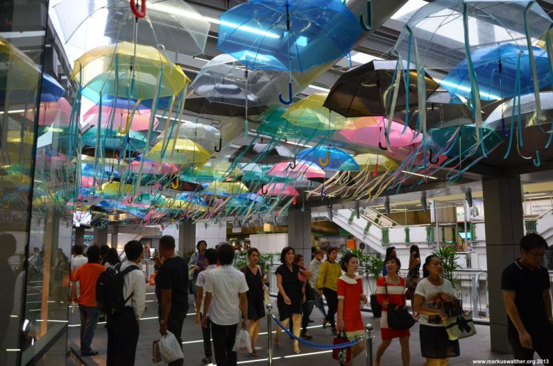 Bangkok Terminal 21 Schirme