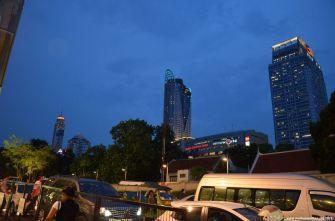 Bangkok Central World Skyline