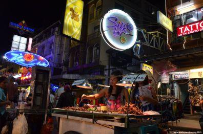 Bangkok Khaosan Road Insekten