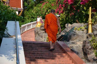 Bangkok Mönch am Goldenen Berg