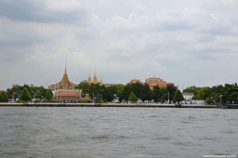 Bangkok Chao Phraya Tempelanlagen