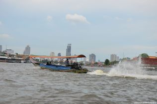 Bangkok Chao Phraya Skyline