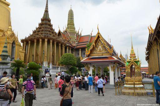 Bangkok Wat Phra Kaeo Innenhof
