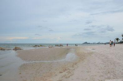 Hua Hin Strand Übersicht
