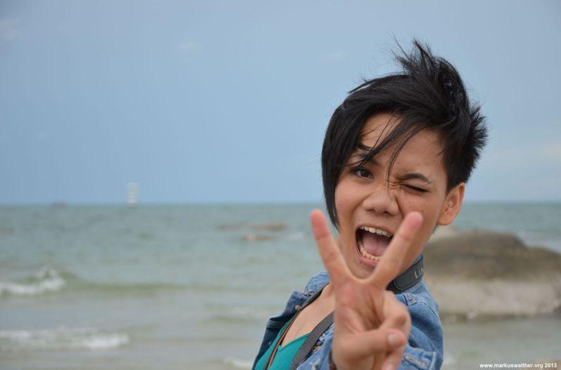 Hua Hin Strand Peace
