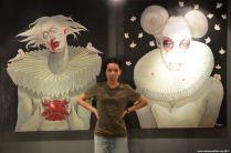 Seltsame Bilder in der Kunstgalerie beim Sheraton Hua Hin