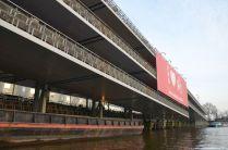 Parkhaus für Fahrräder in Amsterdam