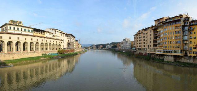 Ponte Vecchio Florenz Panorama