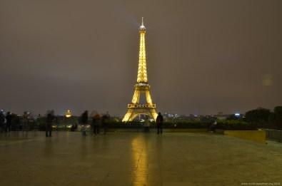 Goldener Eiffelturm