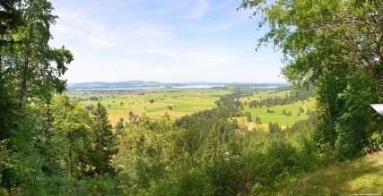 Panorama der Landschaft