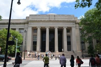 William Barton Rogers Building am MIT in Cambridge