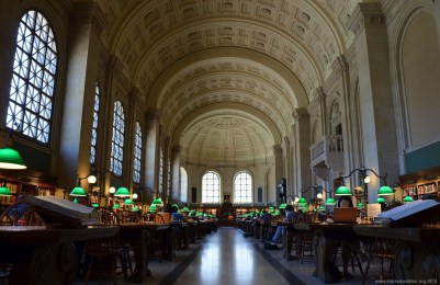 Boston Public Library Lesesaal