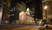 Old State House Boston bei Nacht