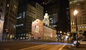 Old State House Boston bei Nacht