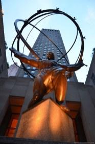 Atlas vor dem Rockefeller Center, New York