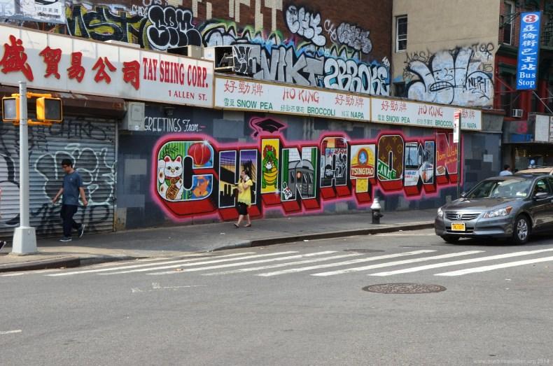 Chinatown Graffiti, New York