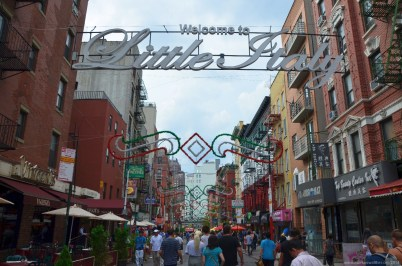 Welcome to Little Italy, New York