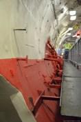 Auf der USS Growler im Intrepid Sea, Air & Space Museum, New York