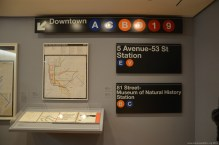 New York Subway im MoMa New York