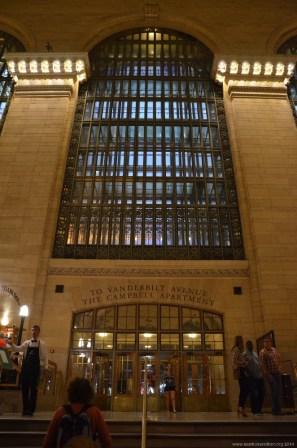 Ausgang im New York Grand Central Terminal