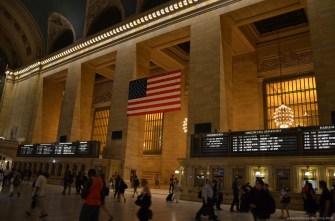 Anzeigen im New York Grand Central Terminal
