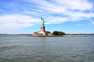 Liberty Island und Freiheitsstatue, New York