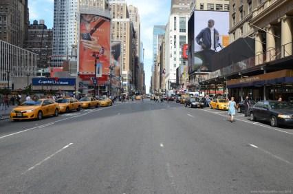 In den Straßen von New York City