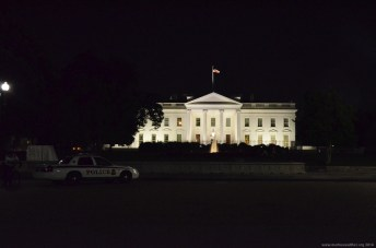 The White House bei Nacht, Washington DC