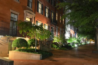 Jackson Place bei Nacht, Washington DC