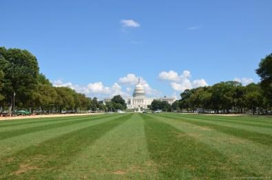 Blick auf das Capitol, Washington DC
