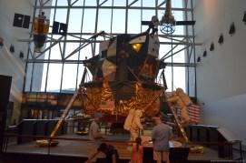 Apollo Mondlandefähre im Smithsonian's National Air and Space Museum, Washington