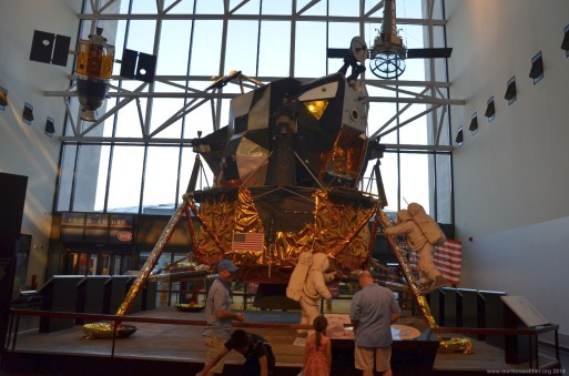Apollo Mondlandefähre im Smithsonian's National Air and Space Museum, Washington
