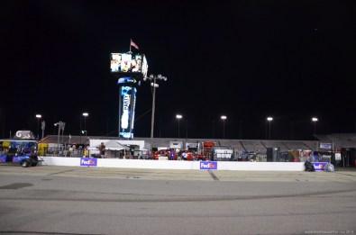 FedEx Box beim NASCAR Sprint Cup auf dem RIR