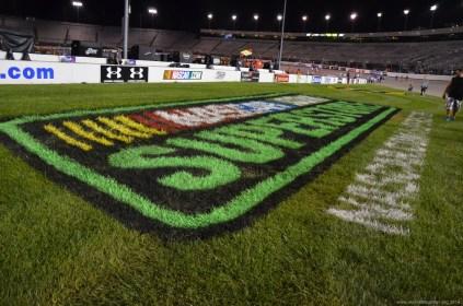 Nascar Werbung beim NASCAR Sprint Cup auf dem RIR