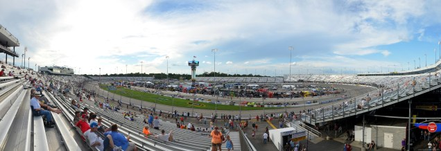 Panorama auf dem Richmond International Raceway