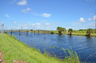 Brücke am Highway 90 auf dem Weg in die Everglades (Coppertown)