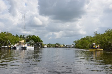 Hafen in Everglades City