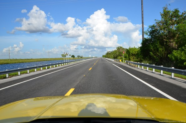 Auf dem Highway 90, Tamiami Trail East, Everglades, Florida