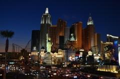 New York New York bei Nacht, Las Vegas