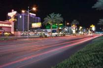 Verkehr auf dem Las Vegas Strip
