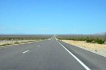 Auf dem Weg zum Death Valley Nationalpark
