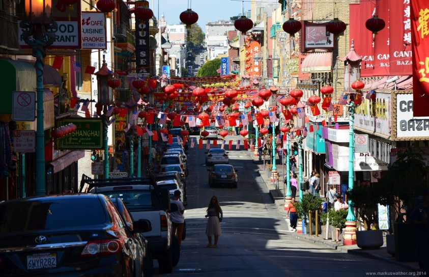 China Town Grant Avenue San Francisco