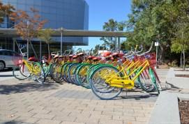 Google Fahrräder in Mountain View, CA