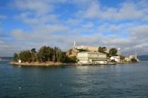 Anfahrt auf Alcatraz Island