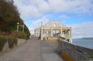 Offiziersklub auf Alcatraz Island